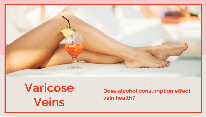 Alcohol Consumption effects on veins health